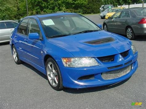 Blue Mitsubishi Lancer by Blue Mitsubishi Lancer Evo Or Yellow Pictures