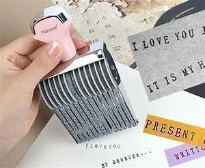 wonderful things epheriell designs With letter and number ink stamps