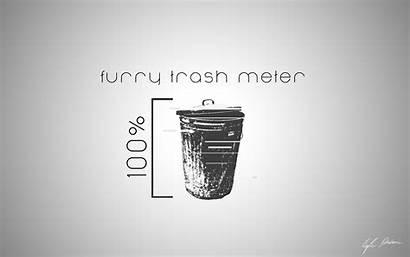 Trash Furry Meter Weasyl Report