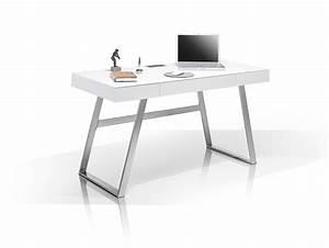 Schreibtisch Höhenverstellbar Weiß : aurela schreibtisch wei matt ~ Markanthonyermac.com Haus und Dekorationen
