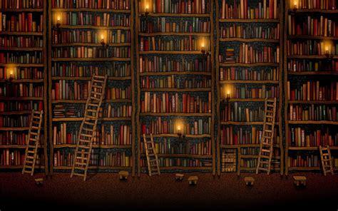 wallpaper  bookshelf wallpapersafari