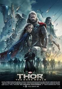 "Thor 1 2 the Dark World Movie Poster 20"" x 13"" Decor 27-in"