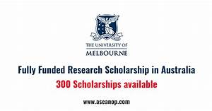 Graduate Research Scholarships The University of Melbourne ...