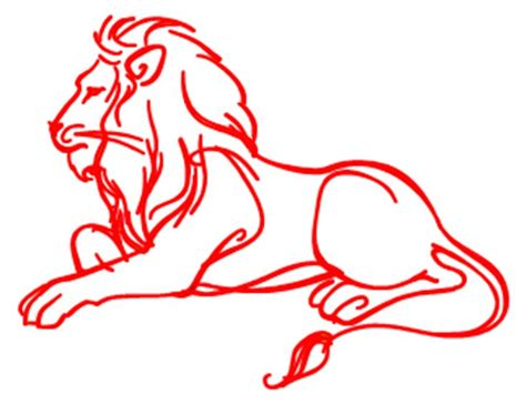 art  drawing lion lion sketch leo