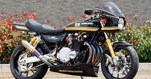 Racing Caf U00e8  Kawasaki Z1 No 015 By Bull Dock