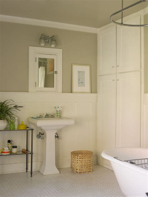 Popular Paint Colors For Living Rooms 2014 by Craftsman Bungalow Craftsman Bathroom Los Angeles