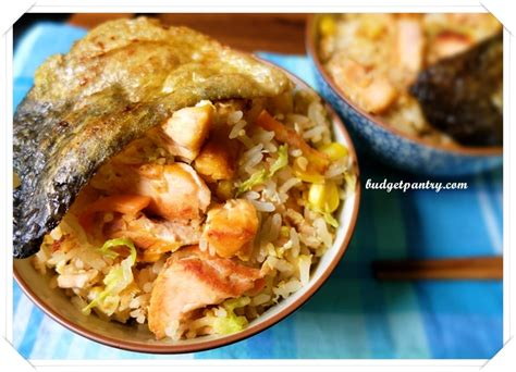 Rice Left Out Overnight Easy Salmon Fried Rice