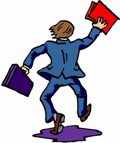Leaving Clipart Clip Person Retirement Cliparts Leave