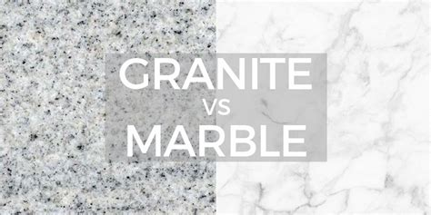 Should You Get Marble Or Granite Countertops?