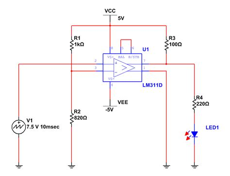 op amp tutorial comparator recipe