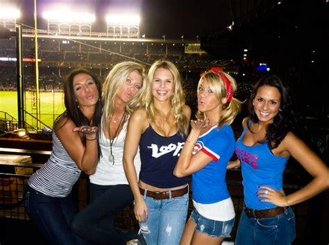 gorgeous baseball fans
