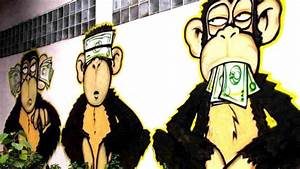 Three, Monkeys, In, White, Background, With, Money, Hd, Dope
