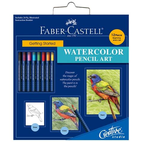 faber castell  started watercolor pencil art set