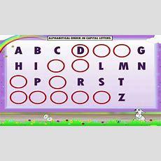 Learn Grade 1  English Grammar  Alphabetical Order Youtube