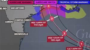 Hurricane Laura Update  Path  Track And Houston Updates