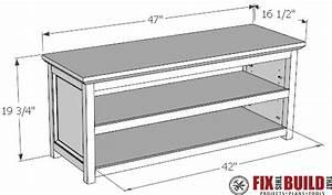 Plans For A Storage Bench Best Storage Design 2017