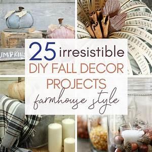 25, Diy, Fall, Farmhouse, Home, Decor, Projects, You, U0026, 39, Ll