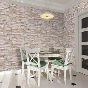 Wand Mit Steinen : steine wanddeko wohnzimmer ~ Michelbontemps.com Haus und Dekorationen