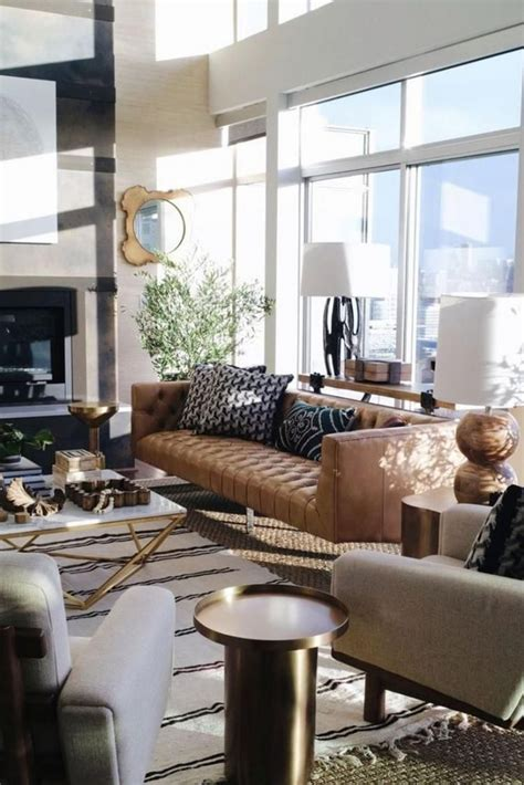 45 Awesome Modern Apartment Living Room Design Ideas