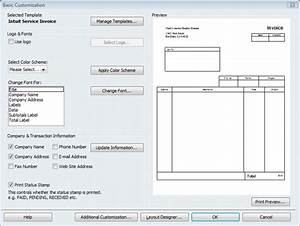 look professional with customized quickbooks forms With intuit invoice forms