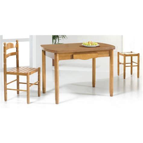 mesa cocina extensible    cm acabada madera
