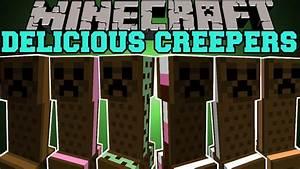 Minecraft: DELICIOUS CREEPERS! (ICE CREAM AND TNT!) Ice ...