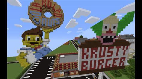 minecraft krusty burger lard lad  youtube