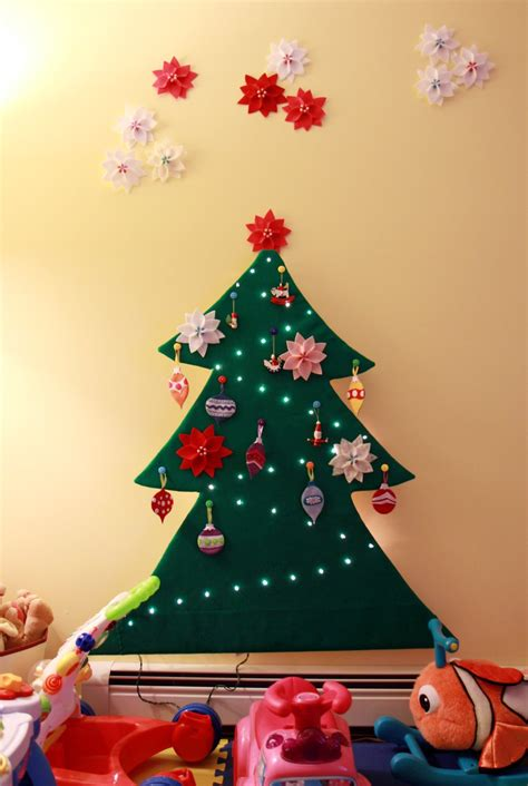tranquility spot toddler safe 2 d felt christmas tree