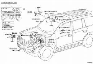 Lexus Lx 570 Engine Control Module - 8966160y31