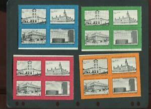16 VINTAGE 1968 NYC NEW YORK CITY ASDA STAMP SHOW POSTER ...