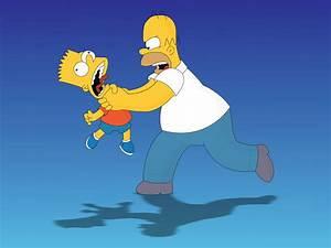Wallpaper cartoon, the simpsons, bart Simpson, Homer ...
