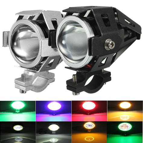 Led Motorcycle Driving Lights by U7 Waterproof Motorcycle Led Driving Fog Light Spot