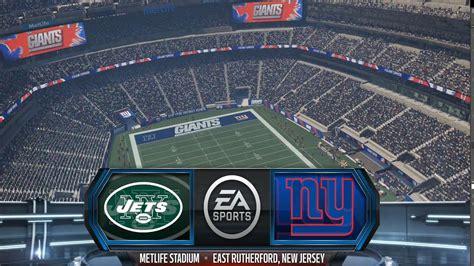 madden nfl   york jets   york giants gameplay