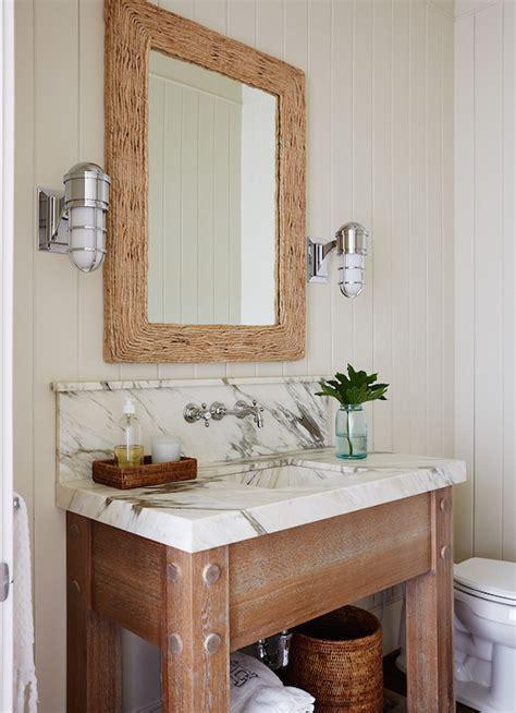 Driftwood Sink Vanity   Eclectic   bathroom   Brandon