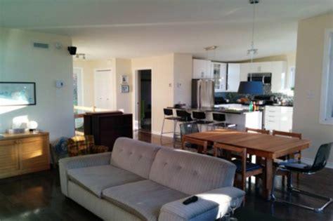 cuisine salon aire ouverte maison cyriac sur le lac chalets appartements