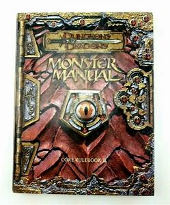 Dungeons  U0026 Dragons Monster Manual Core Rulebook 3 Iii 2000