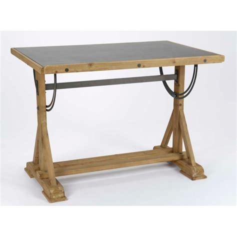 meubles bureau professionnel table bureau d 39 architecte metal bois et panneau tableau noir
