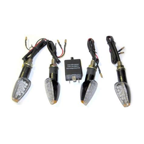le led pour moto quatre clignotants 224 leds plus centrale clignotante pour moto led effect