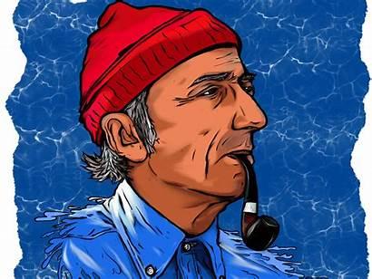 Jacques Cousteau Young Fortress Dribbble Jason Shots