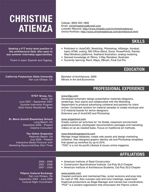 excellent sle resume for architect in 2016 2017