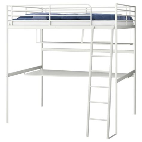 ikea desk and bunk bed ikea tromso svarta loft bed frame metal desk and shelf top