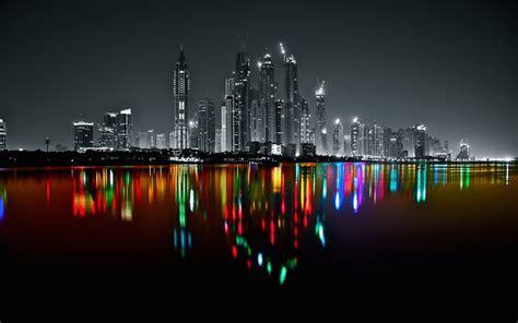 dubai marine skyline platux modern art photography