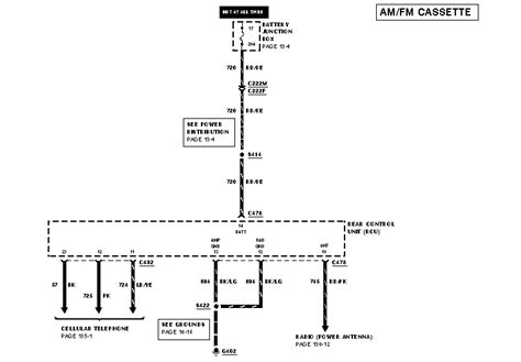 Sable Radio Wiring Diagram Taurus Car Club
