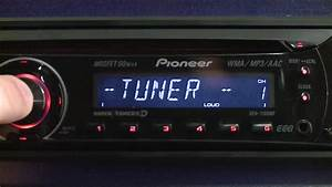 Pioneer Cd Player Deh-1180mp