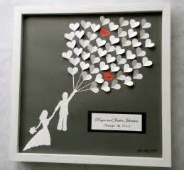 wedding guest book alternative  paper hearts lovely