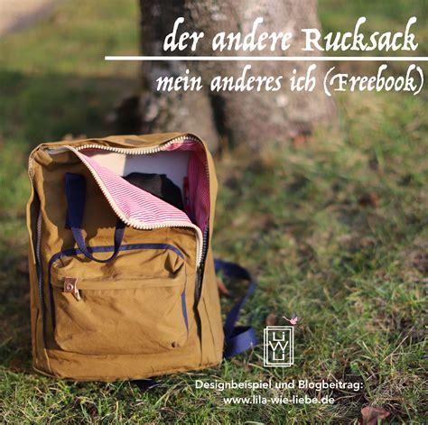 der andere rucksack freebook mein anderes ich ideen