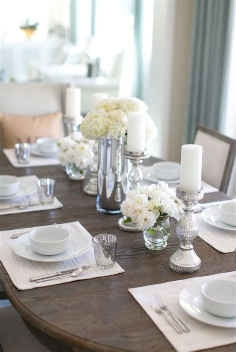 Dining Room Table Decor Ideas by Best 25 Dining Room Table Centerpieces Ideas On
