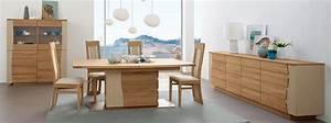 Salle a manger lady chene et bois laque meubles bois massif for Petite cuisine équipée avec meuble de salle a manger en bois massif