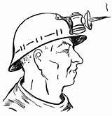 Coloring Mine Worker Para Colorear Dibujos Pages Minero Coal Dibujo Profession Mineros Supercoloring Coloringpages101 Imagenes Imagen Printable sketch template