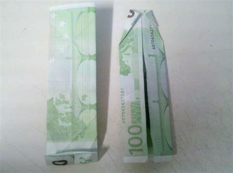 hemd aus einem geldschein falten schritt  origami mit